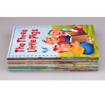 Harga Fairy Tale Story Books Set of 20 with 1 CD