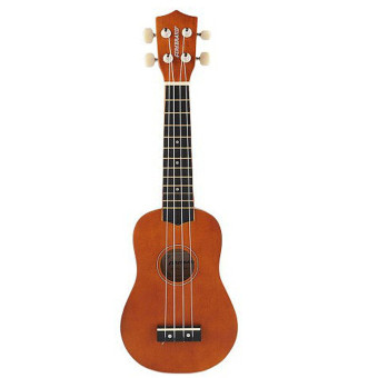Harga 21 Inch Acoustic Soprano Hawaii Ukulele Musical Instrument Coffee - Intl