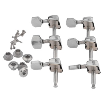 Harga LT365 6 Pcs Guitar String Tuning Pegs Tuners Machine Heads Guitar Parts