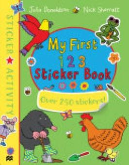Harga My First 123 Sticker Book.