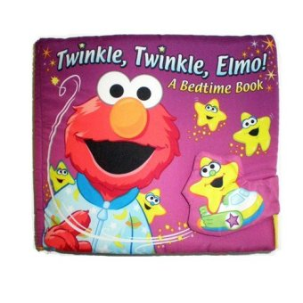 Harga Soft Play Baby Infant safe cute Educational Cloth Book (Twinkle Twinkle Elmo A Bedtime Book)(Export)