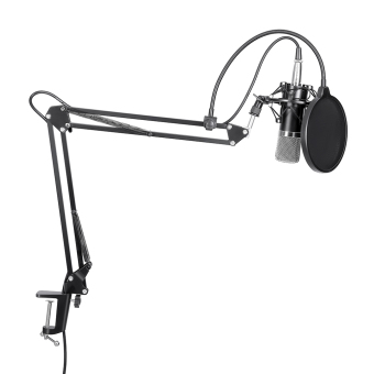 Harga Neewer NW-700 MICROPHONE KIT+B-3 MICROPHONE WIND SCREEN FILTER SHIED+NB-35 STAND