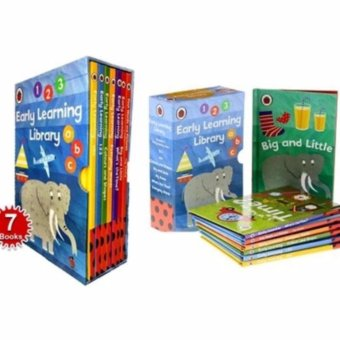 Harga Ladybird 7-book early learning library