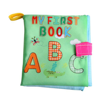 Harga Newborn Baby Cloth Learning Book (Letter)