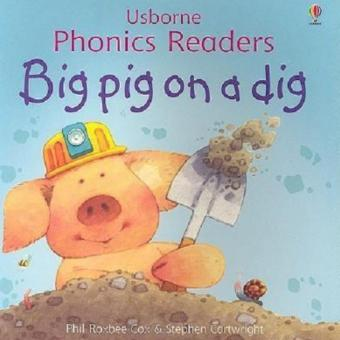 Harga Usborne Phonics - Big Pig on a Dig