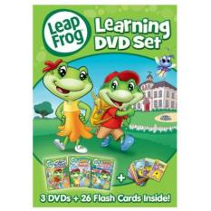 LeapFrog: Learning DVD Set with 26 Flash Cards