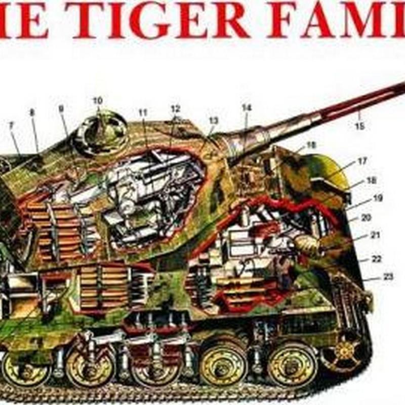 The Tiger Family of Tanks (Author: Horst Scheibert, ISBN: 9780887401879)