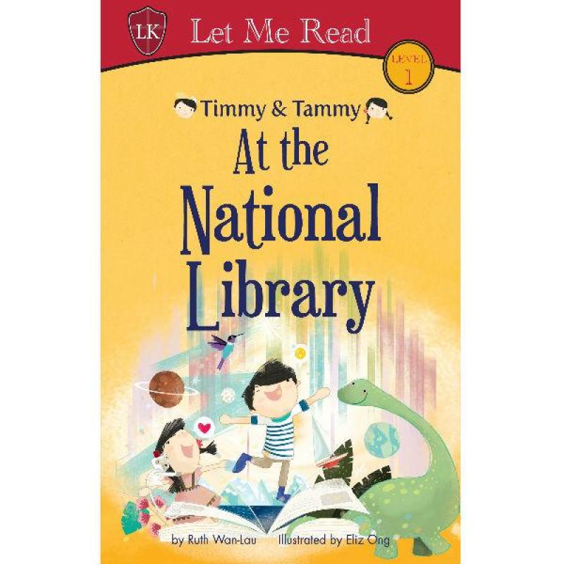 Timmy & Tammy at the National Library Level 1