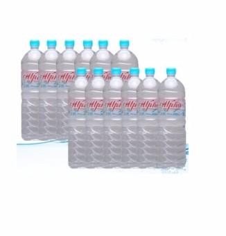 Alpha Pure Drinking Water - 12 bottles x 1500 ml