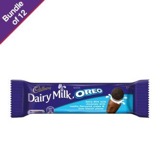 Cadbury Oreo Vanilla Chocolate 45g - Bundle of 12