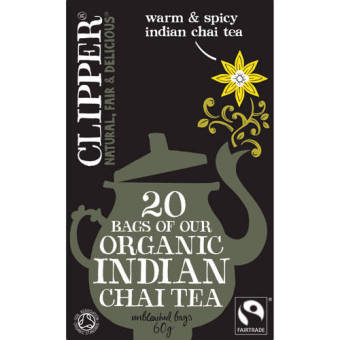 Harga Clipper Organic Speciality Indian Chai Tea - 20TB