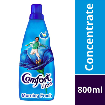 Harga Comfort Concentrates Ultra Morning Fresh Fabric Softener 800ml