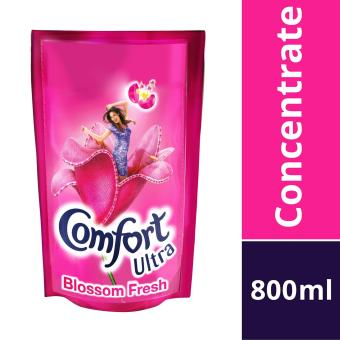 Harga Comfort Ultra Blossom Fresh Concentrated Fabric Conditioner Refill Pouch - 1 X 800 ML