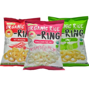 Harga Ricelicious Organic Rice O-Ring Assorted Flavours (3 Packets)