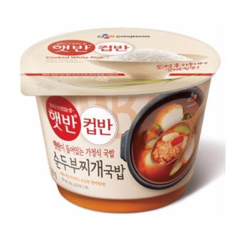 Harga Cup Rice Tofu Stew Soup Rice 173g