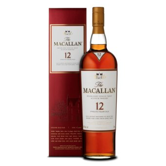 Harga MACALLAN 12 YO SHERRY OAK 70CL