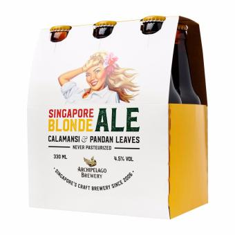 Harga Archipelago Brewery Singapore Blonde Ale Craft beer 6 x 330ml