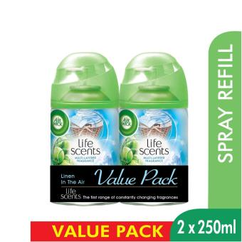 Harga Air Wick Life Scents Linen in the Air Freshmatic Refill Twin Pack