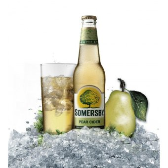 Harga Somersby Pear - 330 ml x 24 bottles
