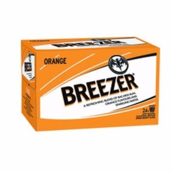 Harga Bacardi Breezer Orange (275ml)