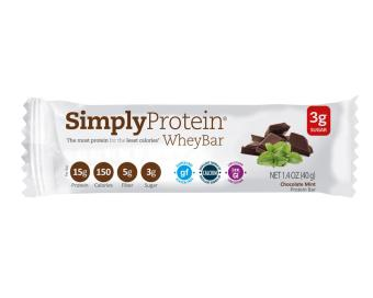 Harga Simply Protein Bar - Chocolate Mint Whey(x12)