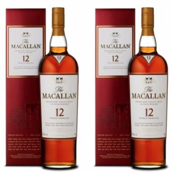 Harga MACALLAN 12 YO SHERRY OAK 75CL x 2 BOTTLES