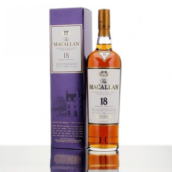 Harga Macallan 18 YO Sherry Oak 75CL Alc 43%Vol