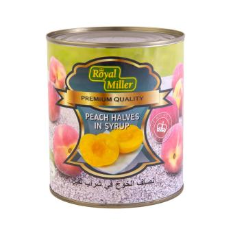 Harga [Carton Deal]Peach Halves - Royal Miller 12x820g