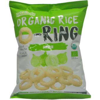 Harga Ricelicious Organic Rice O-Ring Onion Flavour (Gluten Free) (3packets)