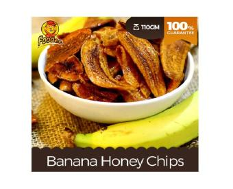 Harga Foodee Banana Honey Chips (110g)