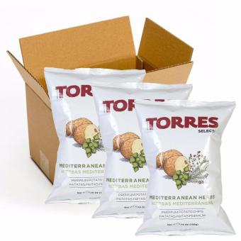 Harga Torres Selecta Mediterranean Herbs Potato Chips - 150g (Pack of 3)