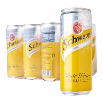 Harga Schweppes Tonic Water 24 Cans x 330ml