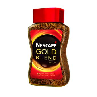 Harga NESCAFÉ® GOLD BLEND Decaf Instant Soluble Coffee 100g