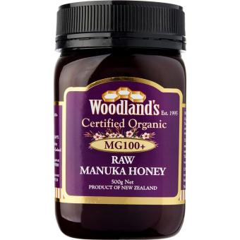 Harga Woodlands Organic Manuka Honey Purple MG100+