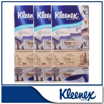 Kleenex 3-Ply Facial Tissue Vintage 5x100sheets x 3