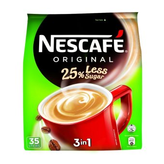 Harga NESCAFE(R) 25% Less Sugar 3in1 35S Instant Coffee