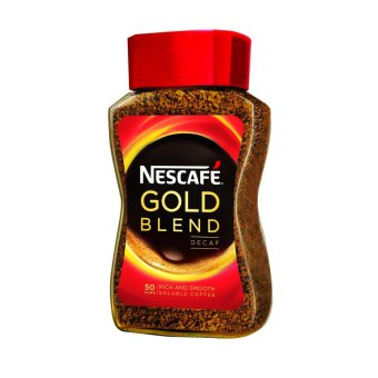 Harga NESCAFE(R) GOLD BLEND Decaf Instant Soluble Coffee 100g