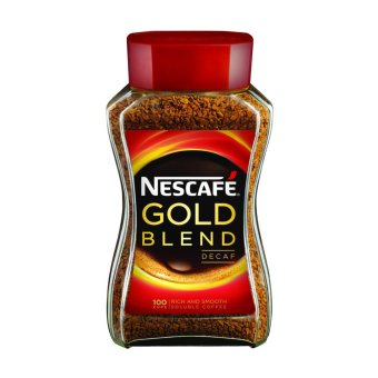 Harga NESCAFE(R) GOLD BLEND Decaf Instant Soluble Coffee 200g