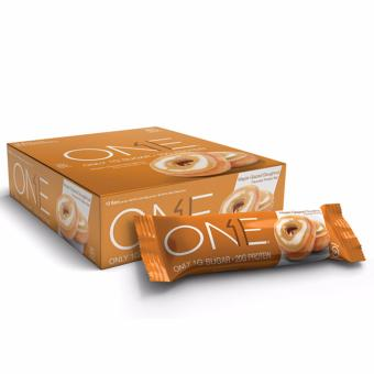 OhYeah! One Bar (12 Bars Per Box) - Maple Glazed Doughnut