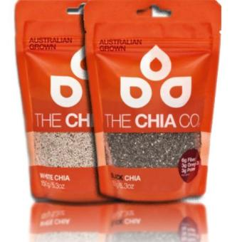 Organic Chia Seeds (300g) Black or White from Australia - The ChiaCompany
