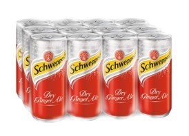 Schweppes Ginger Ale 320ML x 12