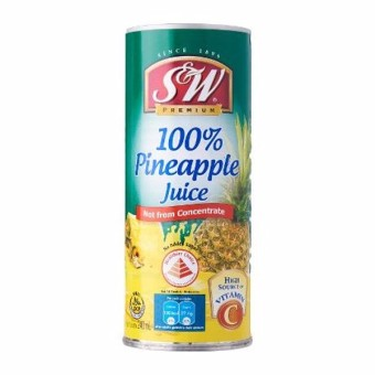 Harga S&W Pineapple Juice 240ML