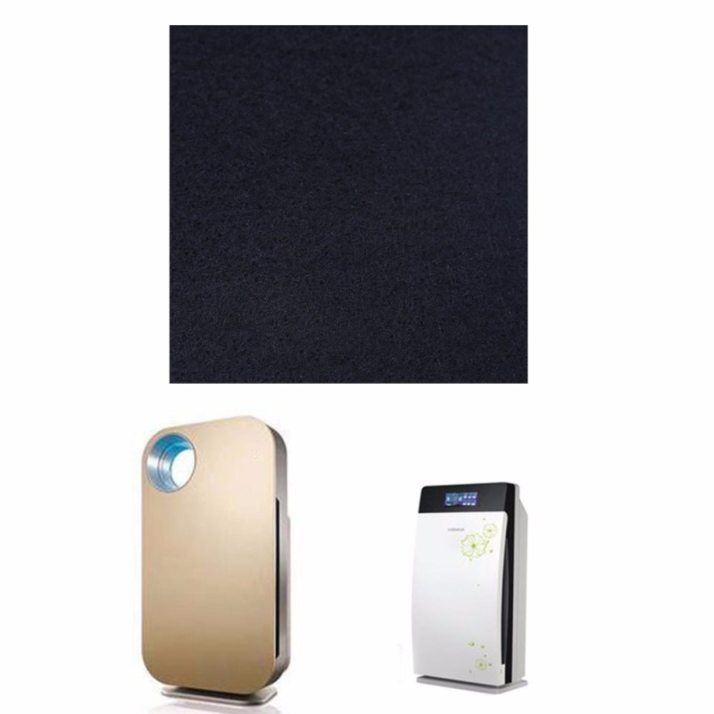 Air Conditioner Activated Carbon Purifier Pre Filter Fabric 100cm*100cm*3mm - intl Singapore