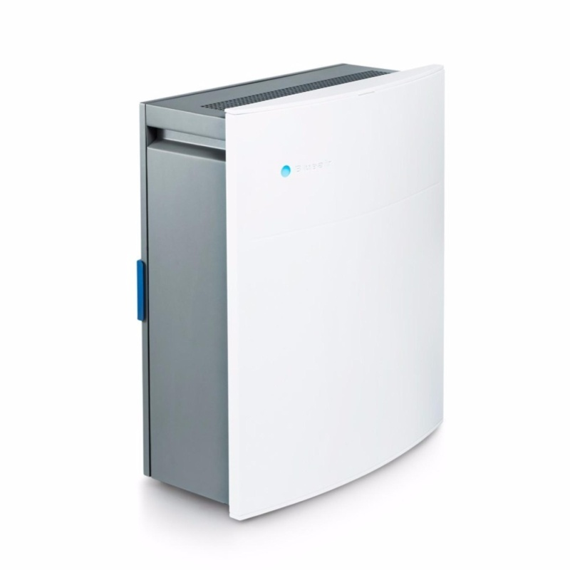 Blueair Classic 205 Air Purifier with HEPASilent Filtration for Allergen Reduction, Small Rooms 279 sq. ft. WiFi Enabled, ALEXA compatible - intl Singapore