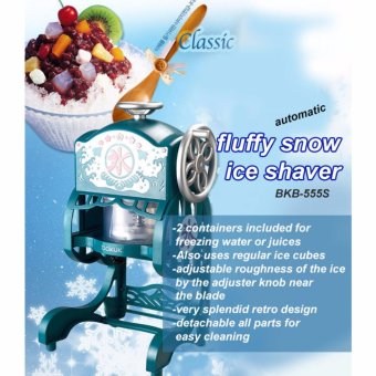 Bokuk Korea BKB-555S Classic Snow Cone ice Shaved Grinder Machine - intl - 2