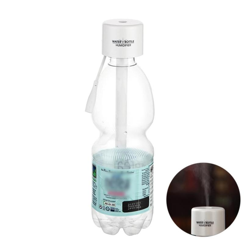 Bottle Caps USB Humidifier Air Diffuser Aroma Mist Maker(White) - intl Singapore