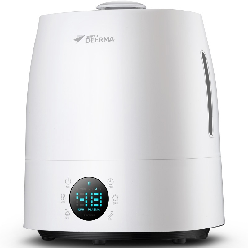 Deerma Home Office Large Bedroom Quiet Humidifier Aromatherapy Mini Air Conditioner Air Purifier - intl Singapore