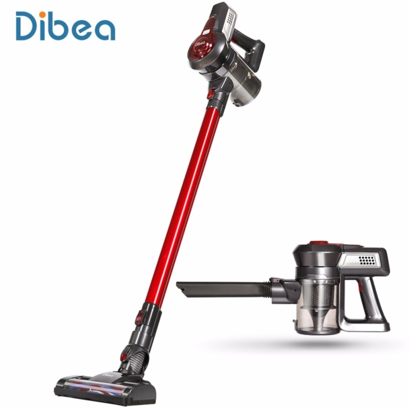 Dibea C17 Cordless 2 in 1 Lightweight Stick Handheld Vacuum Cleaner, Rechargeable Sweeper with Charging Base - intl Singapore