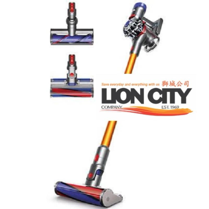 DYSON SV10 V8-Absolute+ CORDLESS VACUUM (2 Cleaner Heads) Singapore