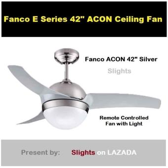 "Harga FANCO ACON 42"" with Remote Control N Light"